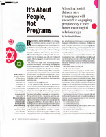 Its About People Not Programs