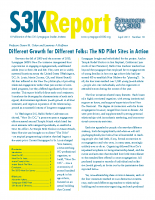 SK3 – Different Growth for Different Folks – Pilot Project