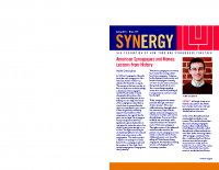 SYNERGY-American Synagogues and Money