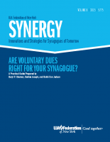 Synergy – Are Voluntary dues right for you