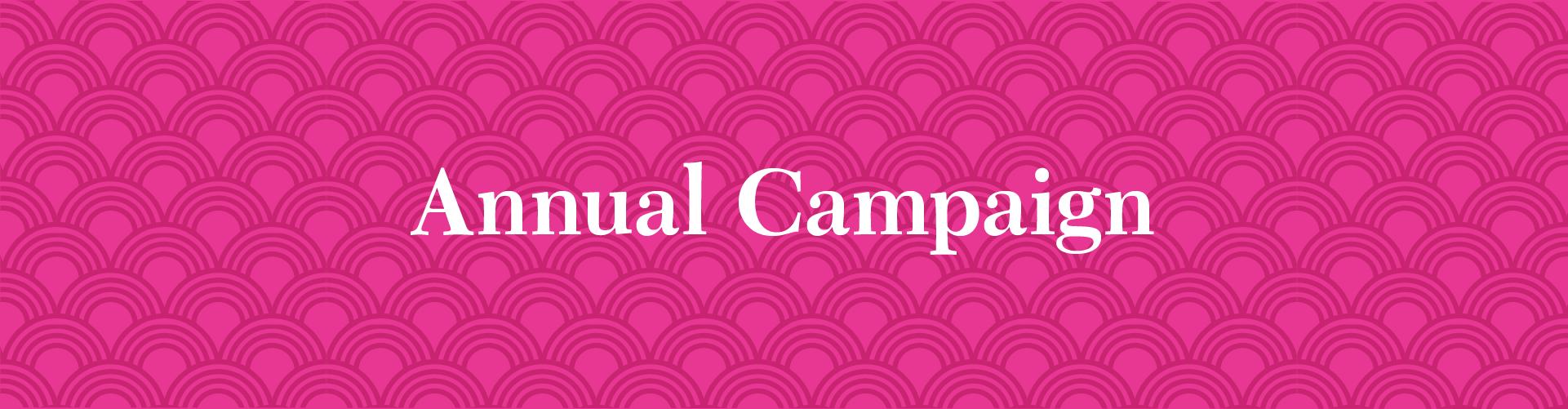 2020-2021 Annual Pledge Campaign